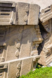 Ruiny Etiopia Aksum, (Axum) Obrazy Royalty Free