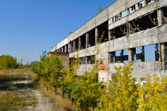 ruiny fabryczne Fotografia Stock