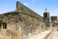 Ruiny fort Jezus w Mombasa obrazy royalty free