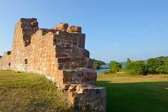 Ruiny forteczny Bomarsund (1832-1854) Fotografia Stock