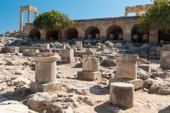 Ruiny fortyfikacje Zdjęcie Royalty Free
