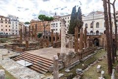 Ruiny Forum w Rzym Zdjęcie Stock