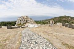 Ruiny grodowy Devín Zdjęcia Royalty Free