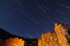 ruiny gwiazdy kamienia ślada obraz stock