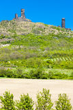 Ruiny Hazmburk Castlea Fotografia Royalty Free