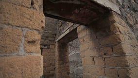 Ruiny Herculaneum, Włochy zdjęcie wideo