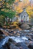 Ruiny i siklawa Zdjęcia Royalty Free