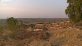 Ruiny kamienny forteca zbiory
