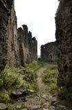 Ruiny kasztel Zdjęcia Stock