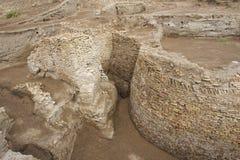 Ruiny Kazachstan Otrar, (Utrar lub Farab) Zdjęcia Royalty Free