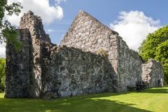 ruiny kościelny rya Obraz Royalty Free