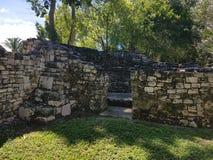 Ruiny kohunlich fotografia stock