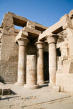Ruiny Kom Ombo świątynia Obraz Stock