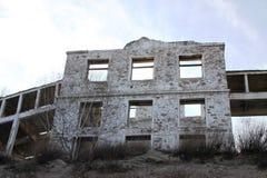 Ruiny koncentruje przemysłowy kompleks w wiosce Tuim (GOK) Zdjęcia Royalty Free
