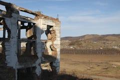 Ruiny koncentruje przemysłowy kompleks w wiosce Tuim (GOK) Obrazy Royalty Free