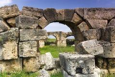 Ruiny Laodicea miasto imperium rzymskie w dniu, Turcja, Pamukkale Obraz Royalty Free