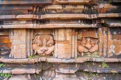 Ruiny Mój syna sanktuarium kompleks, stare Hinduskie świątynie w Wietnamskiej dżungli: Ruiny surowo uszkadzali podczas Fotografia Stock
