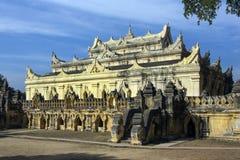 Antyczny monaster Rujnuje Innwa, Myanmar - obrazy royalty free