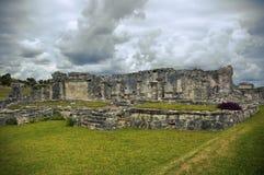 ruiny majski tulum Zdjęcia Royalty Free