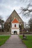 Ruiny monaster święty Brigitta Pirita w Tallinn wewnątrz Zdjęcie Royalty Free