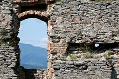 Ruiny okno Zdjęcia Royalty Free