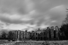 Ruiny pałac Finckenstein zdjęcie stock