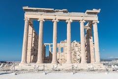 Ruiny Parthenon na akropolu w Ateny, Grecja obraz stock