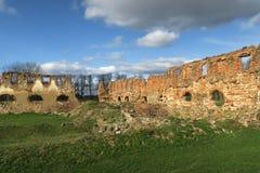 Ruiny Paulava republiki Pavlov republika w Lithuania zdjęcia royalty free