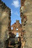 Ruiny Paulava republiki Pavlov republika w Lithuania zdjęcie stock