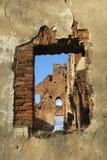 Ruiny Paulava republiki Pavlov republika w Lithuania obrazy stock