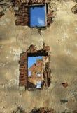 Ruiny Paulava republiki Pavlov republika w Lithuania obrazy royalty free