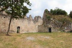 Ruiny Penede roszują w nago, Włochy Zdjęcia Royalty Free