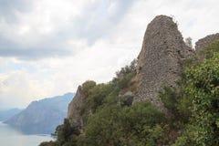 Ruiny Penede roszują w nago, Włochy Zdjęcie Royalty Free