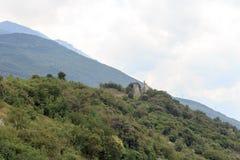 Ruiny Penede roszują w nago, Włochy Fotografia Stock