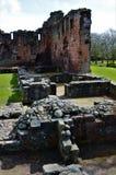 Ruiny Penrith kasztel - punkty zwrotni w Penrith, Cumbria zdjęcie royalty free