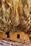 Ruiny, Południowy muła jar, Utah Zdjęcie Stock