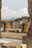 ruiny pompei Zdjęcie Stock