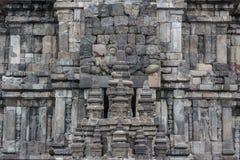 Ruiny Prambanan świątynny kompleks, Jawa wyspa fotografia stock