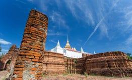 Ruiny Prasat Nakorn Luang, Amphoe Nakorn Luang, Phra Nakorn Si Ayutthaya, Tajlandia Fotografia Royalty Free