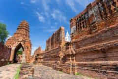 Ruiny Prasat Nakorn Luang, Amphoe Nakorn Luang, Phra Nakorn Si Ayutthaya, Tajlandia Obrazy Royalty Free