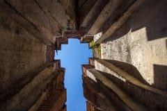 Ruiny Prasat Nakorn Luang, Amphoe Nakorn Luang, Phra Nakorn Si Ayutthaya, Tajlandia Zdjęcia Stock