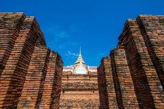 Ruiny Prasat Nakorn Luang, Amphoe Nakorn Luang, Phra Nakorn Si Ayutthaya, Tajlandia Zdjęcie Royalty Free