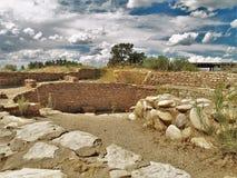 Ruiny przy Anasazi dziedzictwa centrum Zdjęcie Royalty Free