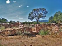 Ruiny przy Anasazi dziedzictwa centrum Zdjęcia Stock