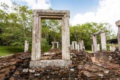 Ruiny przy Anuradhapura, Sri Lanka Zdjęcia Royalty Free