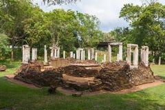 Ruiny przy Anuradhapura, Sri Lanka Obrazy Stock