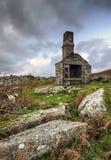 Ruiny przy półmrokiem zdjęcie royalty free
