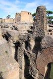 Ruiny przy palatynu wzgórzem w Rzym, Włochy Obrazy Royalty Free