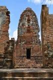 Ruiny przy Watem Maha Który w Ayutthaya Fotografia Royalty Free