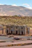 Ruiny Pumapunku obraz royalty free